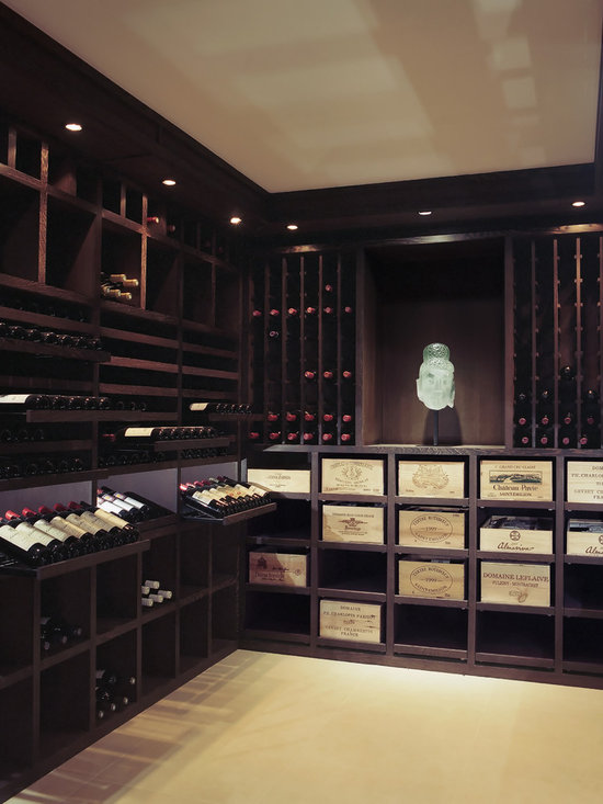 Custom Wine Cellar Wenge Wood 2200 Bottles
