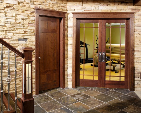 13 Lite True Divided Lite French Glass Door In Cherry