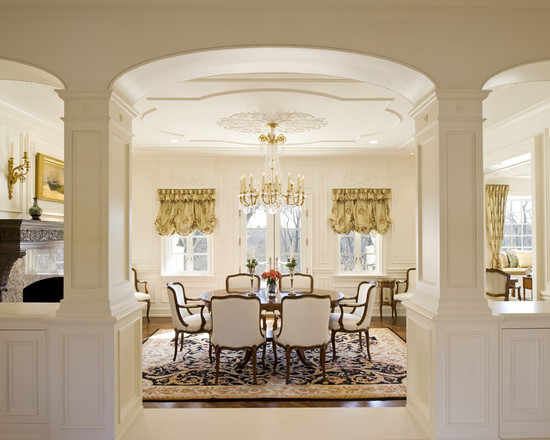 French Inspired Renovation Dining Room